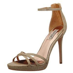 Badgley Mischka Signify Platform Sandal Wedding